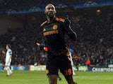 Nicolas Anelka pictured for Chelsea in 2011