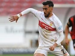 Nicolas Gonzalez in action for Stuttgart on November 7, 2020