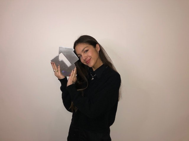 Olivia Rodrigo stays put as UK number one after week of monster sales