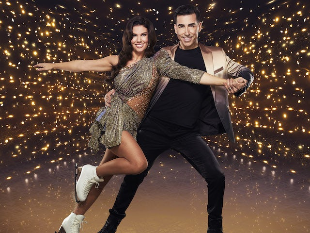 Rebekah Vardy and Andy Buchanan for Dancing On Ice series 13