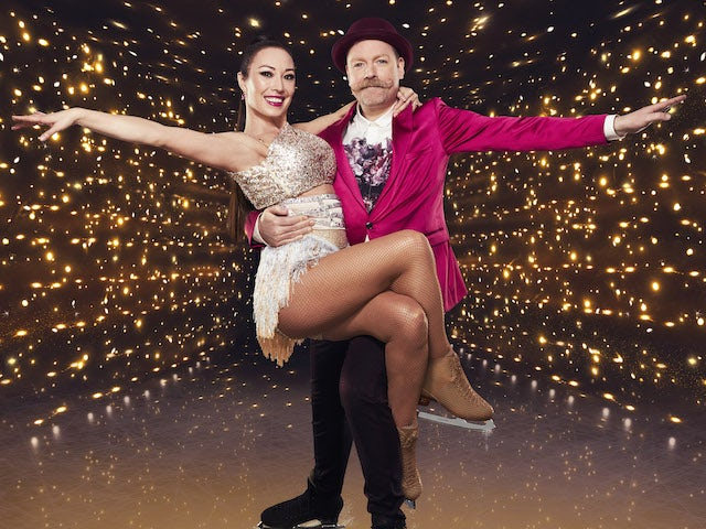 Rufus Hound and Robin Johnstone for Dancing On Ice series 13