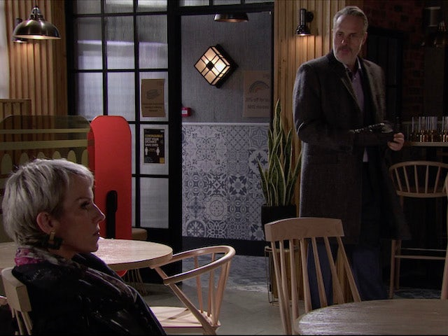 Ray on the second episode of Coronation Street on January 20, 2021
