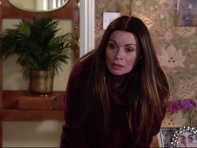 Carla on the second episode of Coronation Street on February 1, 2021