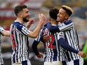 Matheus Pereira celebrates scoring for West Bromwich Albion against Wolverhampton Wanderers in the Premier League on January 16, 2021