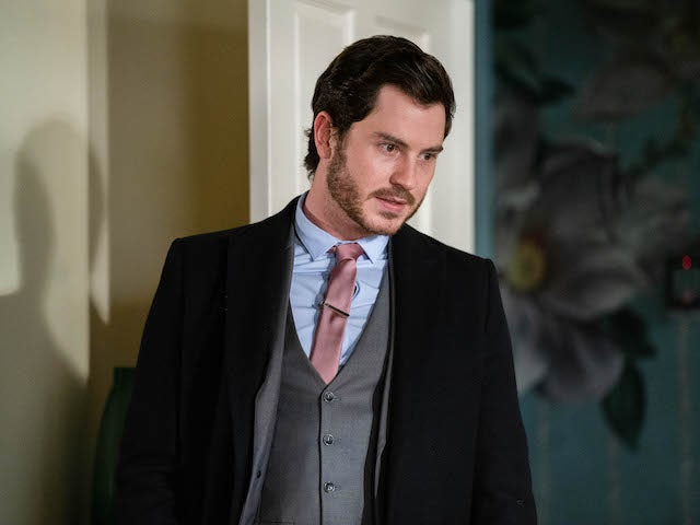 Gray on EastEnders on January 28, 2021