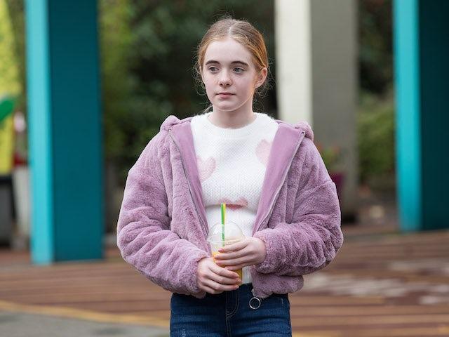 Ella on Hollyoaks on January 25, 2021