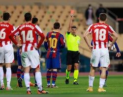 Barcelona injury, suspension list vs. Rayo Vallecano
