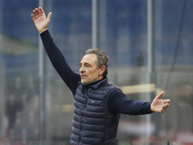 Fiorentina manager Cesare Prandelli pictured in November 2020
