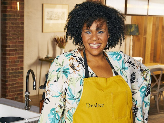 Desiree Burch on Celebrity Best Home Cook series one