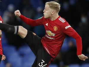 Solskjaer: 'Van de Beek is currently unhappy at United'