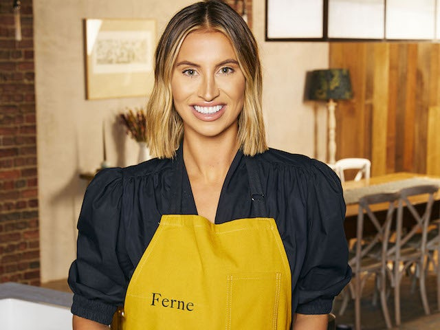 Ferne McCann on Celebrity Best Home Cook series one