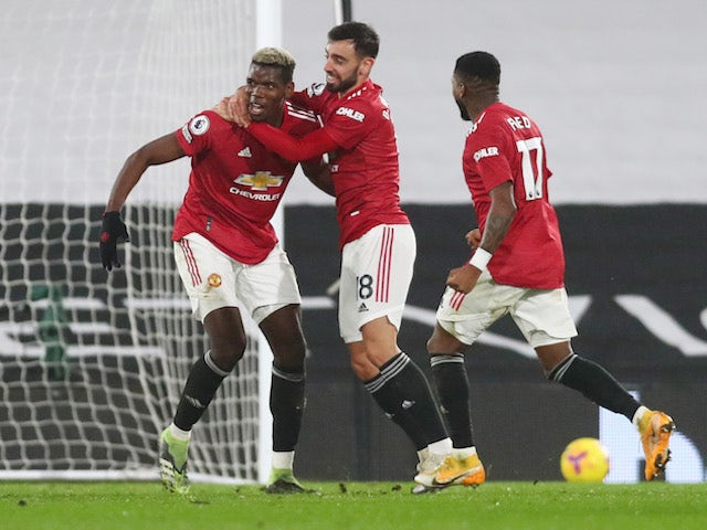 Result: Pogba hits stunner as Man United return to summit with win at Fulham