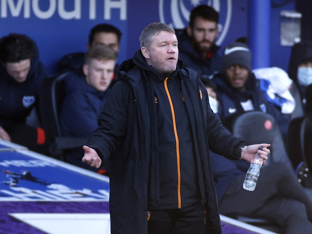 Hull City manager Grant McCann pictured on January 23, 2021