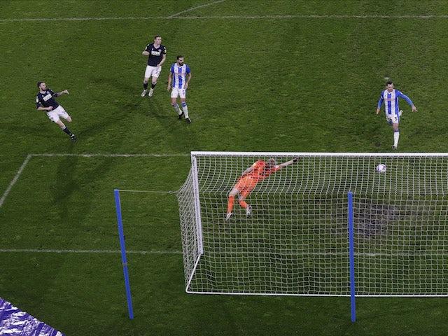 Result: Scott Malone hits winner as Millwall beat Huddersfield