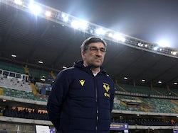 Hellas Verona manager Ivan Juric pictured in December 2020