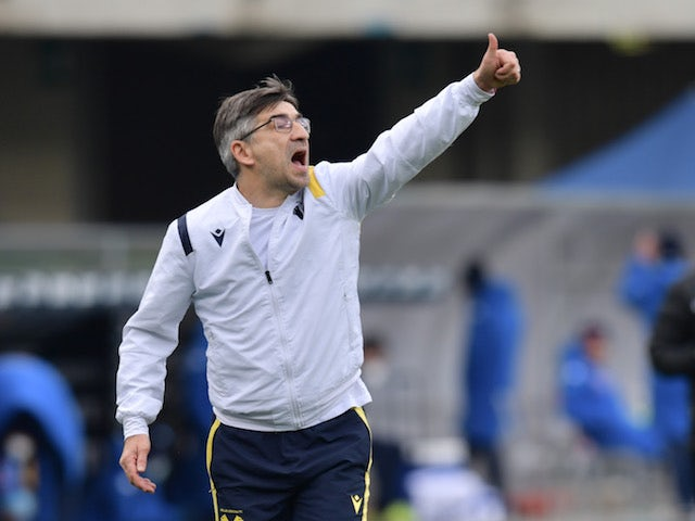 Hellas Verona coach Ivan Juric pictured on January 24, 2021