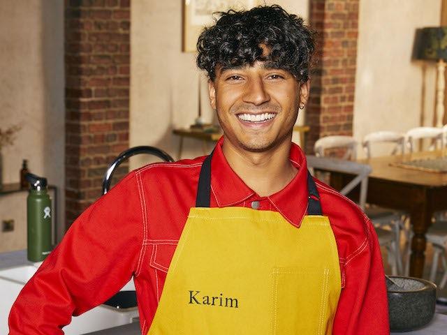 Karim Zeroual on Celebrity Best Home Cook series one