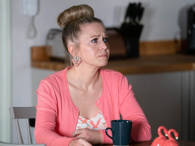 Linda on EastEnders on January 26, 2021