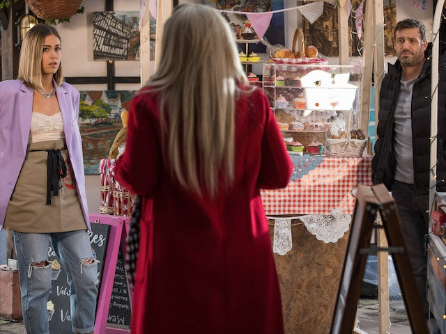 Summer and Warren on Hollyoaks on February 1, 2021