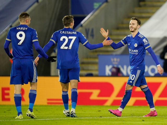 Result: Leicester go top of the table with comfortable win over Chelsea