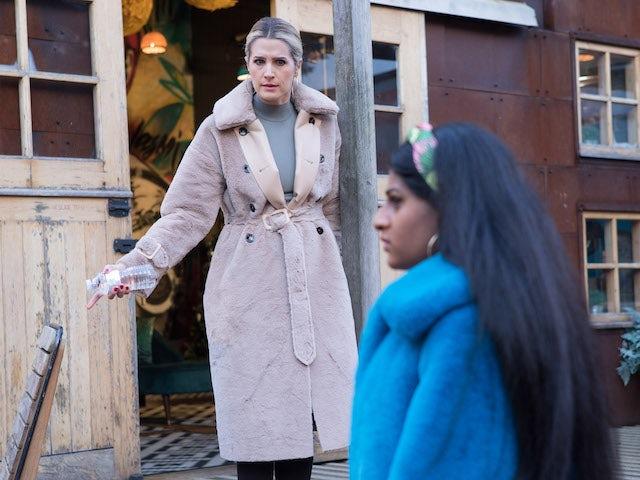 Mandy on Hollyoaks on January 25, 2021