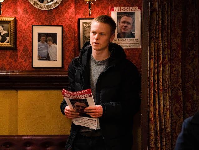 Bobby on EastEnders on February 1, 2021