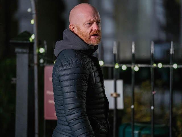 Max on EastEnders on February 2, 2021