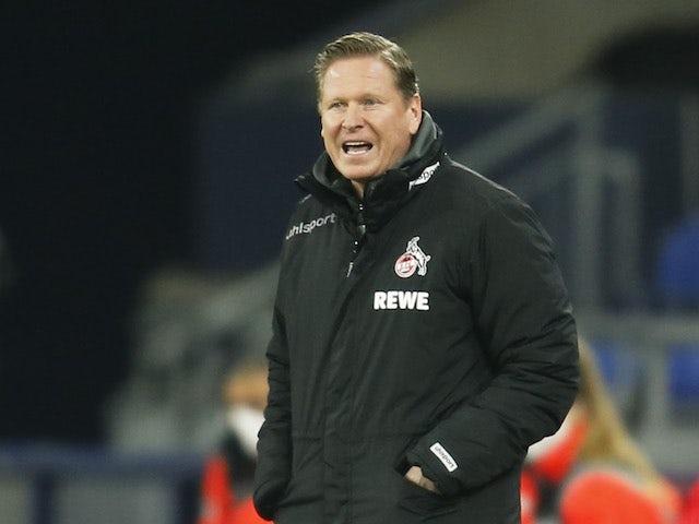 Koln head coach Markus Gisdol pictured on January 20, 2021