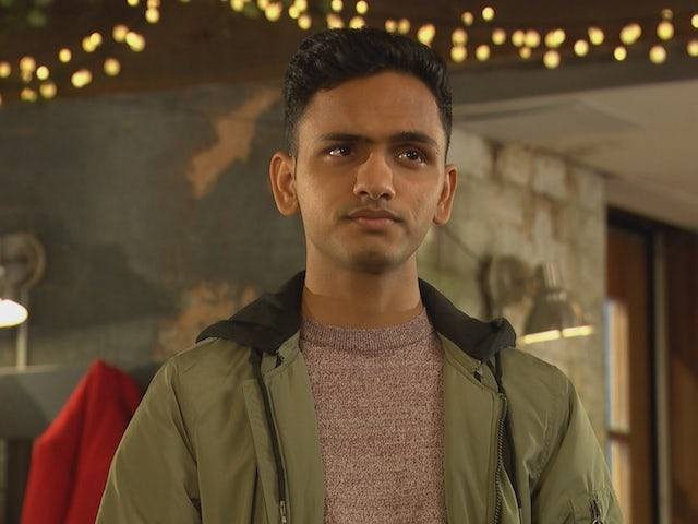 Imran on Hollyoaks on January 26, 2021