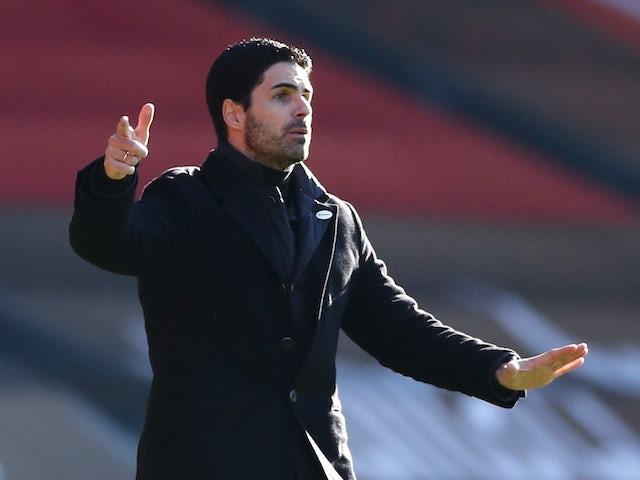 Mikel Arteta defends Willian and Nicolas Pepe after Southampton loss