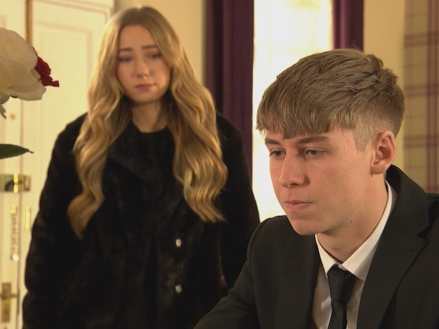 Peri and Sid on Hollyoaks on January 27, 2021
