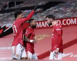 Fernandes stunner helps Man United beat Liverpool in FA Cup
