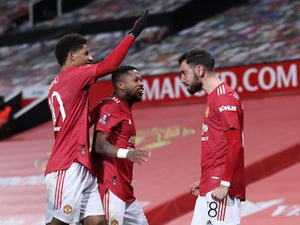Solskjaer delighted with Fernandes free kick