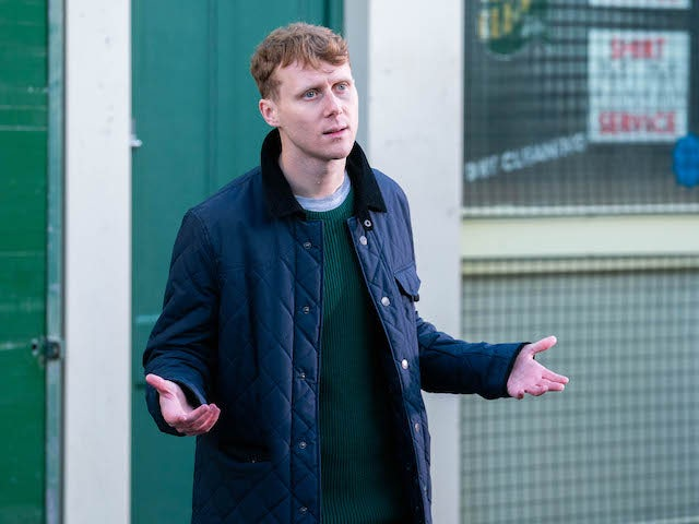 Jay on EastEnders on January 29, 2021