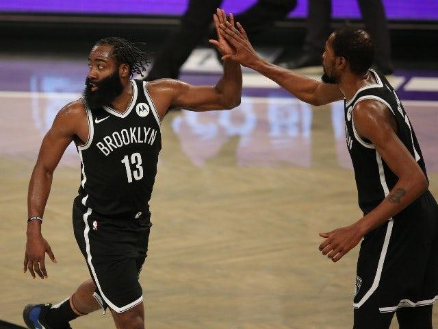 NBA roundup: James Harden inspires Nets to victory over Bucks