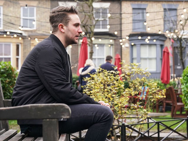 Callum on EastEnders on January 28, 2021