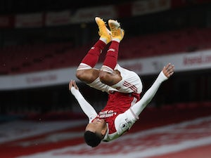 Arteta: 'Aubameyang could miss Man United clash'