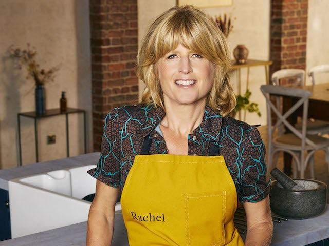 Rachel Johnson on Celebrity Best Home Cook series one