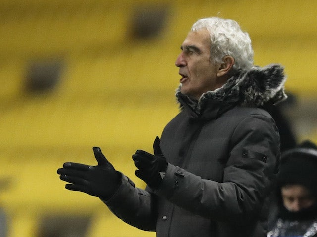 Nantes manager Raymond Domenech pictured in January 2021