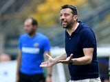 Parma manager Roberto D'Aversa pictured in June 2020