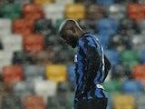 Inter Milan striker Romelu Lukaku pictured on January 23, 2021