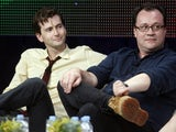 Russell T Davies pictured with David Tennant in July 2009