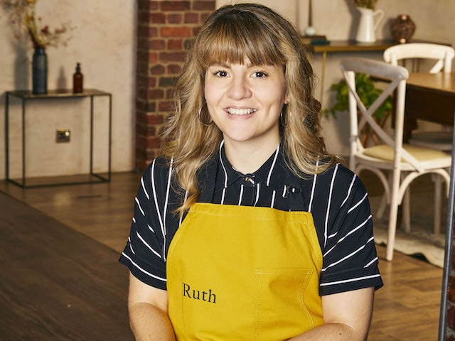 Ruth Madeley on Celebrity Best Home Cook series one