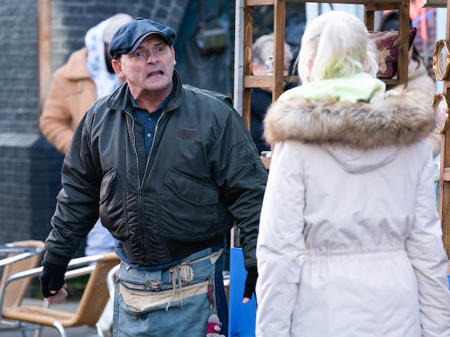 Billy on EastEnders on January 29, 2021