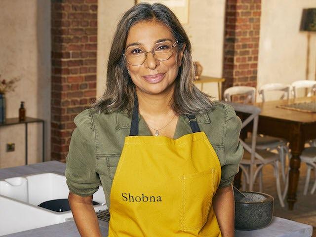 Shobna Gulati on Celebrity Best Home Cook series one