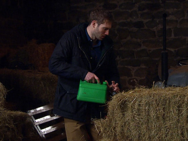 Jamie on the first episode of Emmerdale on February 4, 2021