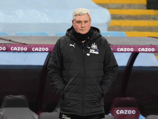 Newcastle United manager Steve Bruce pictured on January 23, 2021