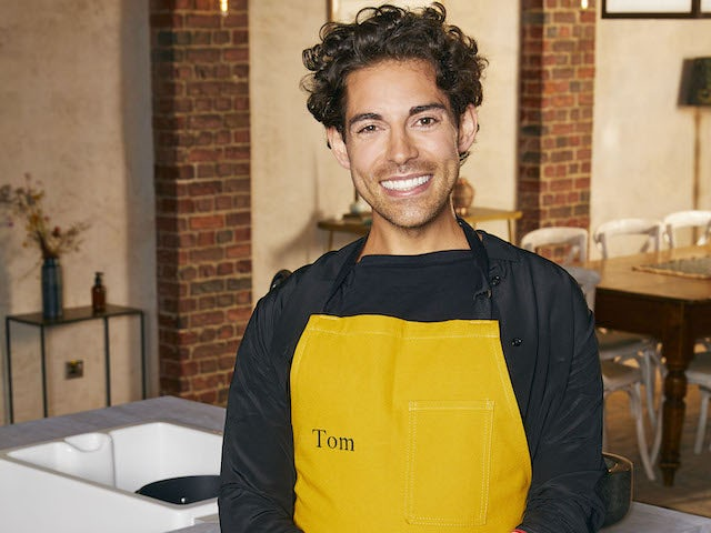 Tom Read Wilson on Celebrity Best Home Cook series one