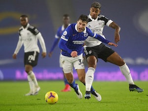 Brighton, Fulham play out goalless draw at the Amex