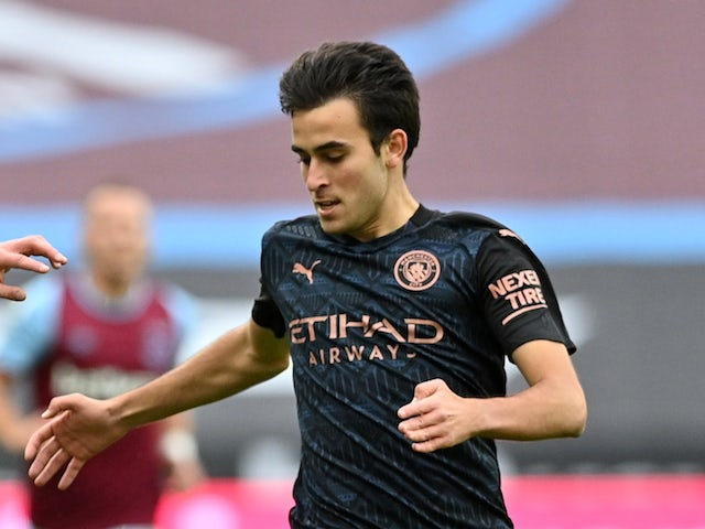 Manchester City defender Eric Garcia pictured in October 2020
